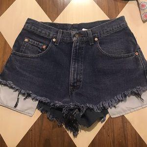 Levi's Shorts - High Waisted Levi Shorts
